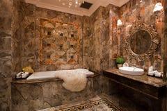 Das Badezimmer Lizenzfreies Stockbild