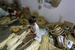 Das Bambus-handmaker stockfotos
