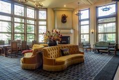 Das Banff Springs Hotel Stockfoto