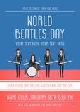 Das Beatles-Band Stockbild