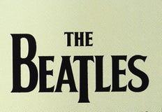 Das Beatles-Logo Lizenzfreies Stockbild