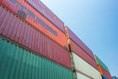 Behälterlagerverteilung lizenzfreie stockbilder