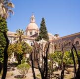 Das Benediktiner-Kloster, Catania Stockbild