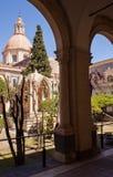 Das Benediktiner-Kloster, Catania Stockfoto