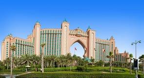 Das berühmte Atlantis-Hotel auf der Palmen-Insel Stockfoto