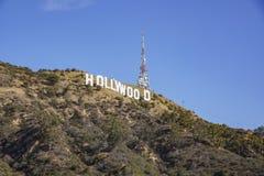 Das berühmte Hollywood-Zeichen Stockfotos