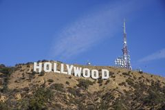 Das berühmte Hollywood-Zeichen Stockfoto