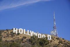 Das berühmte Hollywood-Zeichen Stockfotografie