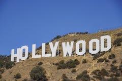 Das berühmte Hollywood-Zeichen Lizenzfreie Stockfotos