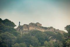 Das berühmte Landhaus Jovis auf der Insel von Capri, Italien lizenzfreie stockfotos