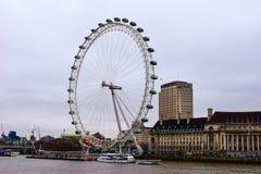 Das berühmte London-Auge Lizenzfreie Stockfotos