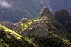 Das berühmte Machu Picchu Lizenzfreie Stockfotografie