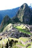 Das berühmte Machu Picchu Lizenzfreie Stockfotos