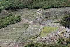 Das berühmte Machu Picchu Stockbild