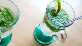 Das berühmte mohito Cocktail stockbilder