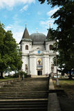 Das berühmte Pilgerfahrtkirche Heilige Hostyn in Moray Lizenzfreies Stockbild