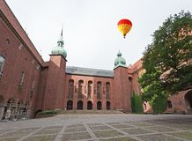 Das berühmte Rathaus von Stockholm Lizenzfreies Stockfoto