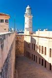 Das berühmte Schloss von EL Morro, ein Symbol von Havana Stockfoto