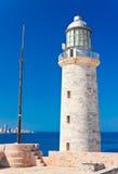 Das berühmte Schloss von EL Morro, ein Symbol von Havana Stockbilder