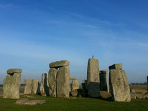 Das berühmte und mysteriöse Stonehenge in England. lizenzfreie stockbilder