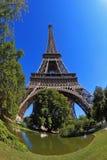 Das berühmteste - der Eiffelturm Stockbilder