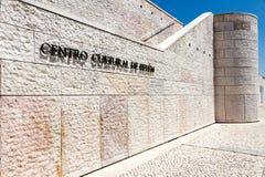 Das Berardo-Sammlungs-Museum in Lissabon stockfotografie