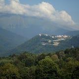 Das Berg-sity lizenzfreies stockbild
