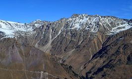 Das bergige Gelände vom Elbrus lizenzfreies stockbild