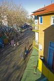 Das berühmte Caminito, in Buenos Aires Stockbilder