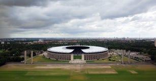 Das Berlin Olympiastadion stockfotos