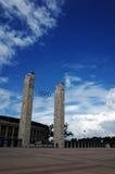 Das Berlin Olympiastadion Lizenzfreies Stockfoto