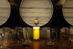 Das beste Bier Lizenzfreies Stockbild
