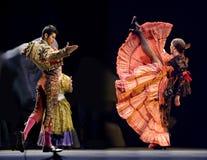 Das beste Flamenco-Tanz-Drama lizenzfreie stockfotografie