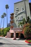 Das Beverly- Hillshotel lizenzfreies stockfoto