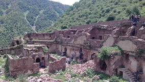 Das bhangarh Fort Stockbild
