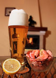 Das Bierglas Stockfotos