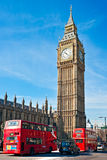 Das Big Ben, London, Großbritannien Stockfotografie