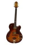 Das Bild der elektrischen Gitarre Lizenzfreies Stockfoto