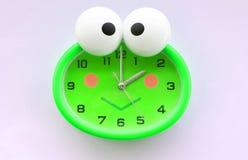 Das Bild der Frosch-Uhr Lizenzfreies Stockbild