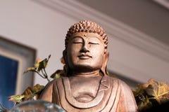 Das Bild des Buddhas der Meditation Stockfotografie
