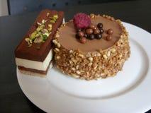 Das Bild des köstlichen Kuchens Stockbilder