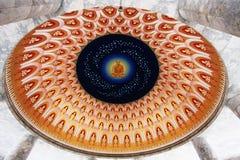 Das Bild von Buddha auf Decke lizenzfreies stockfoto