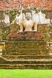 Das Bild von Buddha in Sukhothai historischem Park Stockbild