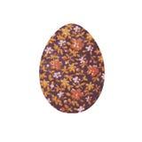 Das Bild wird in A Bild eines Eies mit Blumenverzierung Lizenzfreie Stockfotografie