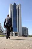 Das bilding Gazprom Stockfoto
