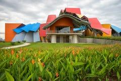 Das Biomuseum in Panama-Stadt Stockfotos