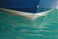 Das blaue Boot Lizenzfreies Stockbild