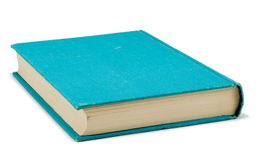 Das blaue Buch Stockfotografie
