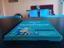 Das blaue Buch Lizenzfreies Stockbild