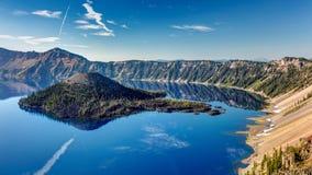 Das blaue Juwel von Oregon stockbilder